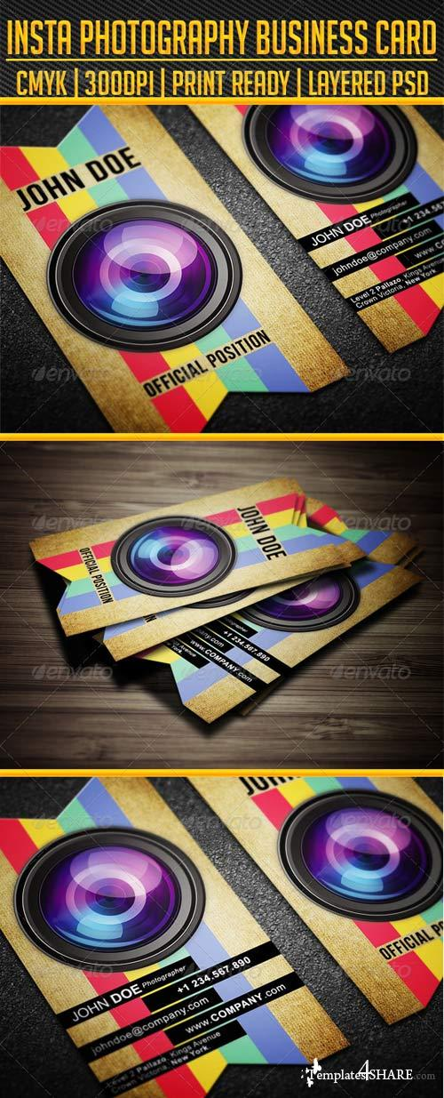 GraphicRiver INSTA Photography Business Card