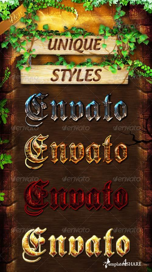 GraphicRiver Unique Styles