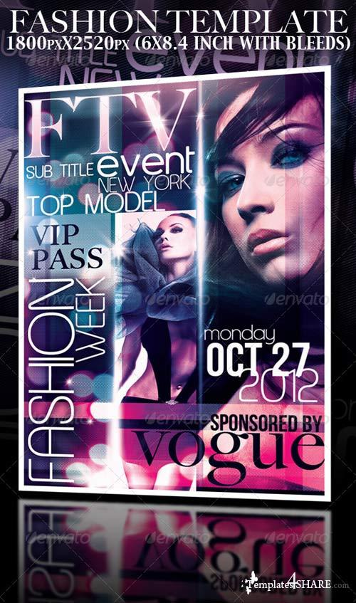 GraphicRiver Fashion Event Template