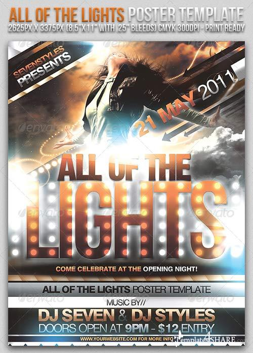 GraphicRiver Lights Poster/Flyer Template
