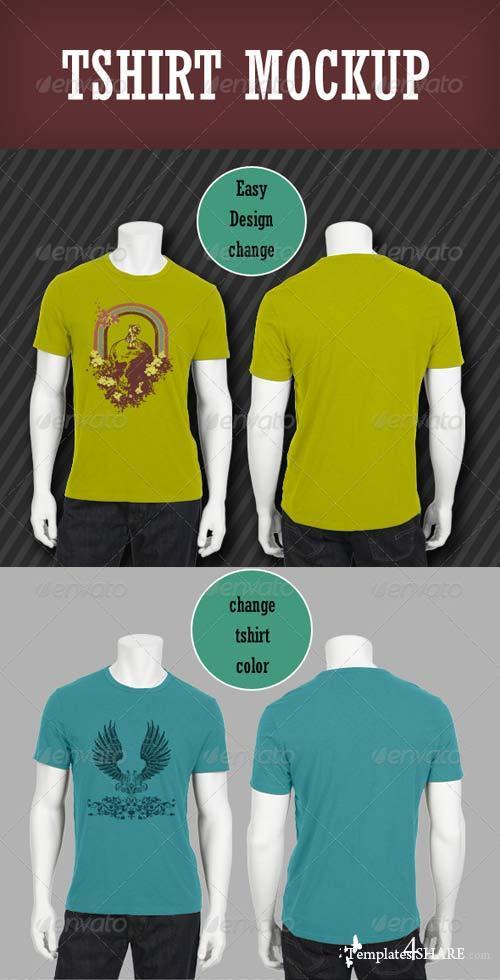 GraphicRiver Tshirt Mockup