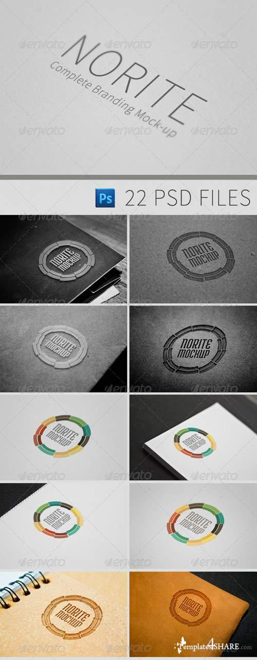 GraphicRiver Norite - Complete Branding Mock-up