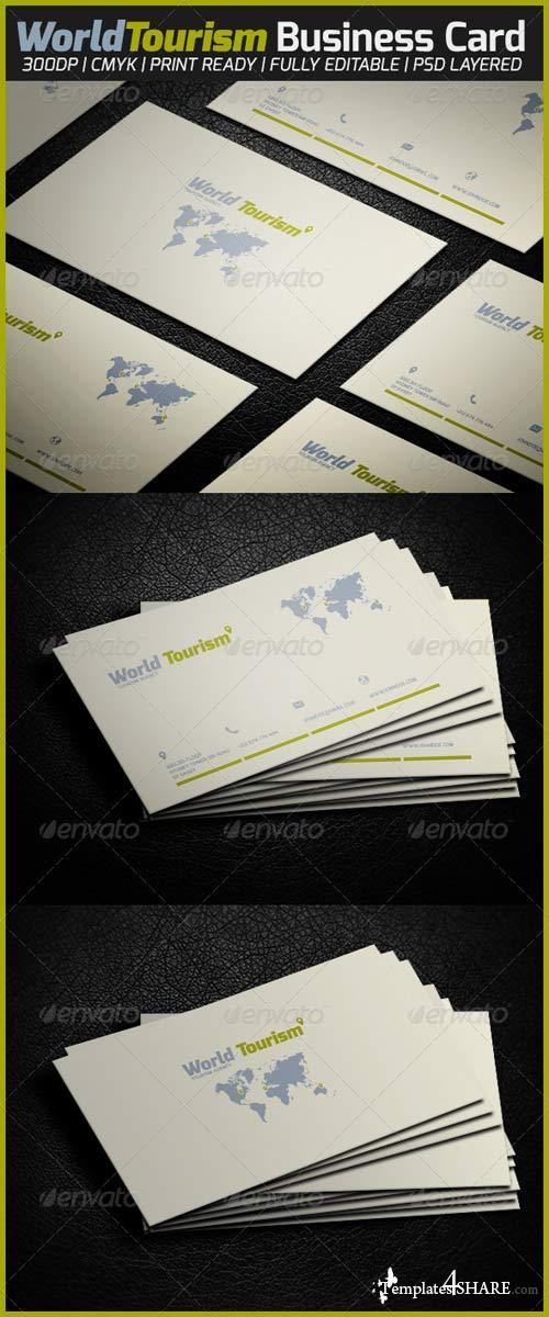 GraphicRiver World Tourism Business Card