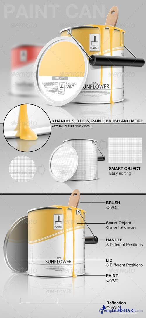 GraphicRiver Paint Can