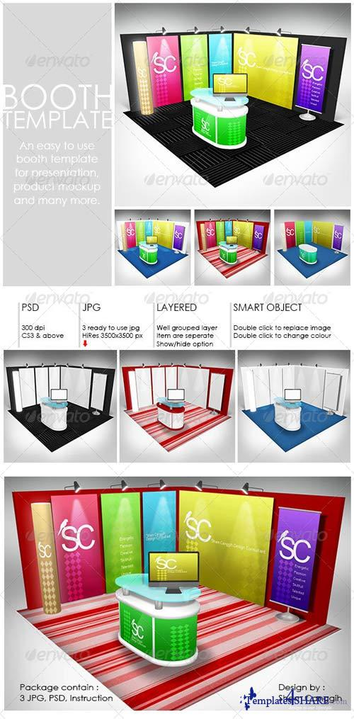 GraphicRiver Booth Mock-up Template