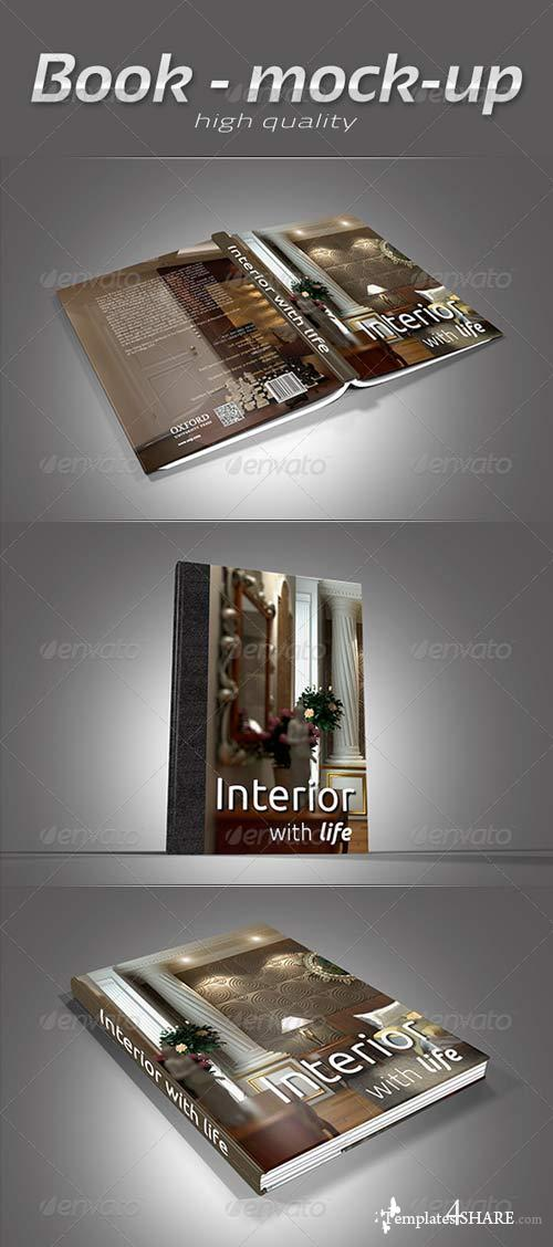 GraphicRiver Book Collection Mock-Up