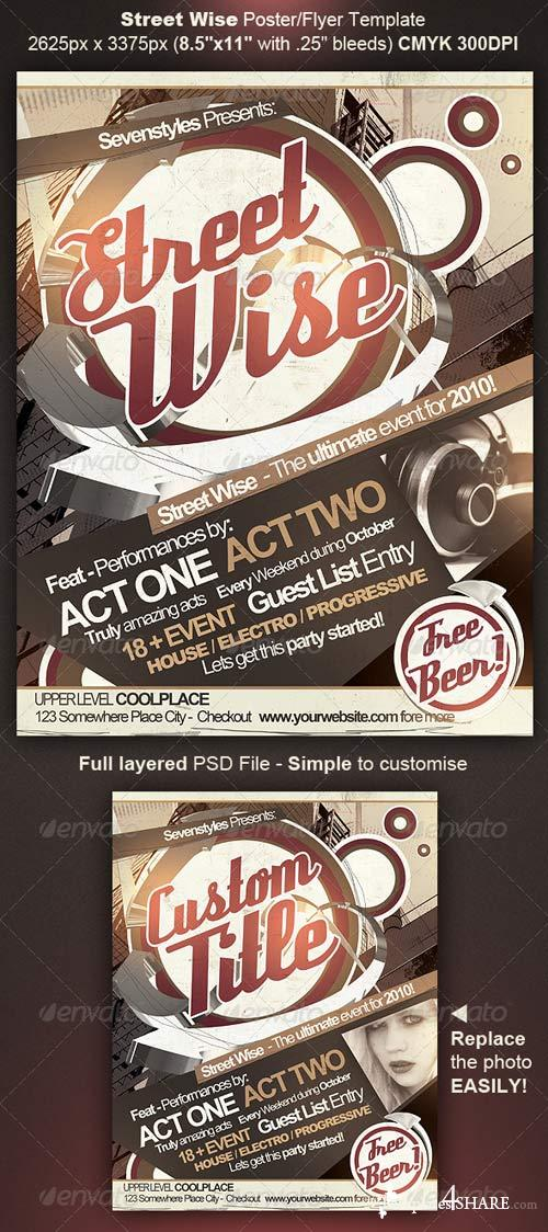GraphicRiver Street Wise Flyer/Poster Template