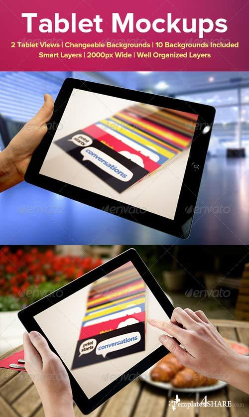 GraphicRiver Tablet Mockups