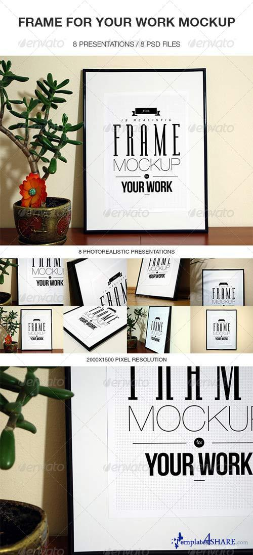GraphicRiver Frame For Your Work Mock-up