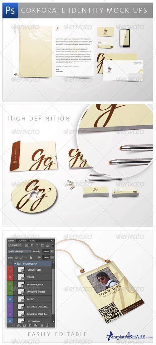 GraphicRiver Corporate Identity Mock-ups
