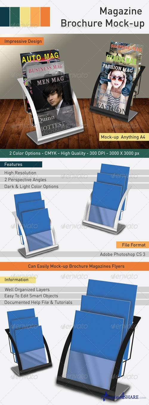 GraphicRiver Magazine Brochure Mockup