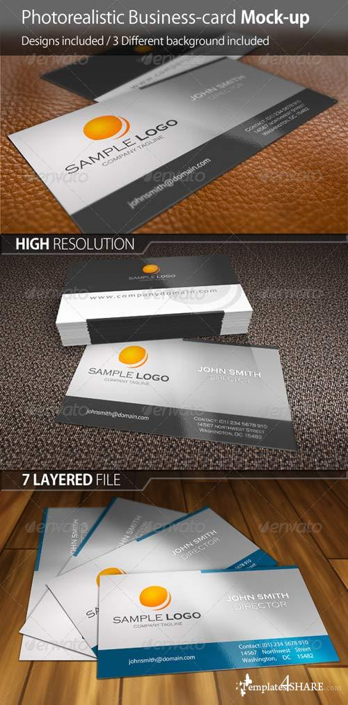 GraphicRiver Business Card Mock-Up Ver.01