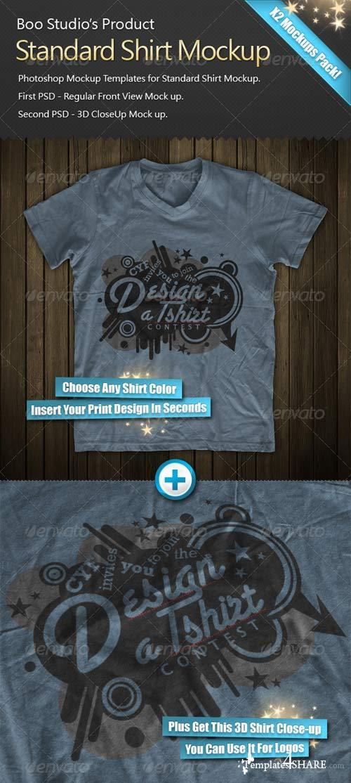 GraphicRiver 3D T-Shirt Mock-Up