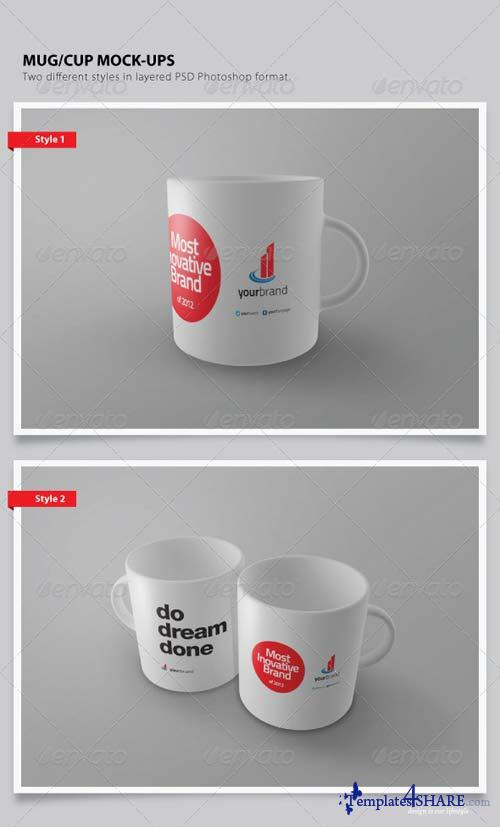 GraphicRiver Cup / Mug Mock-ups