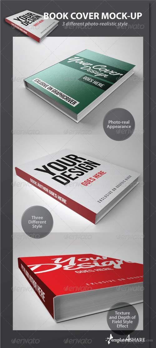 GraphicRiver Book Cover Mock-Up Pack