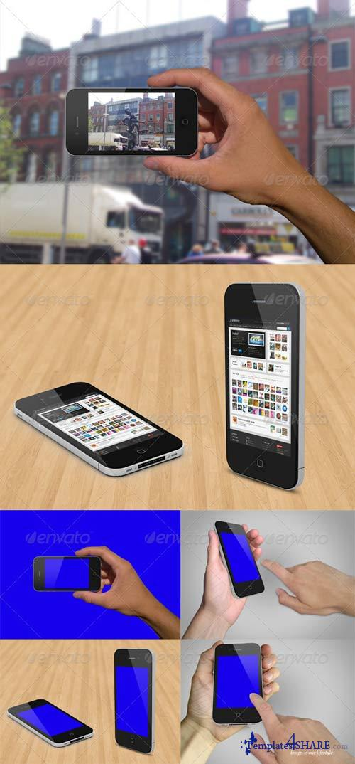 GraphicRiver Various Phone Mockups