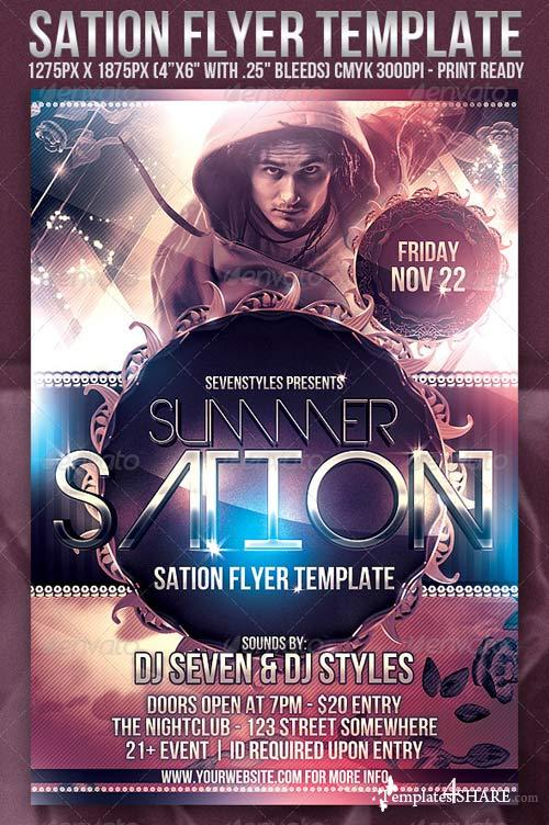 GraphicRiver Sation Flyer Template