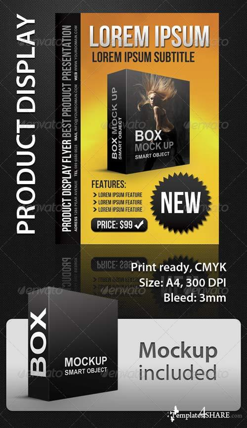 GraphicRiver Product Display A4 Flyer