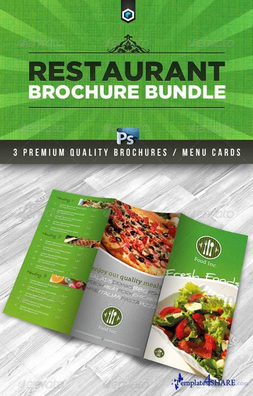 GraphicRiver RW Premium Restaurant Brochure Bundle