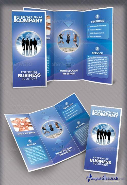 GraphicRiver Tri-Fold Brochure - International Company