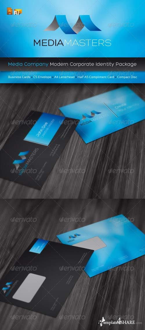 GraphicRiver RW Media Company Identity Pack
