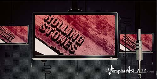 Video Monitors - After Effects Project (Videohive)