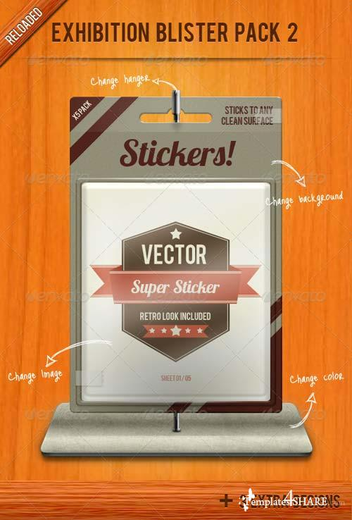GraphicRiver Exhibition Blister Pack Mock-up 2