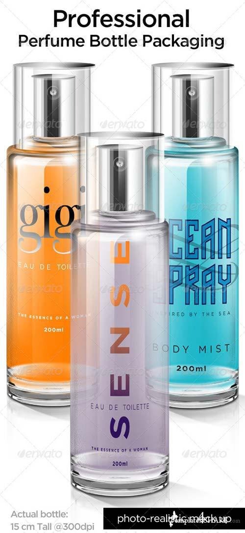 GraphicRiver Perfume Packaging