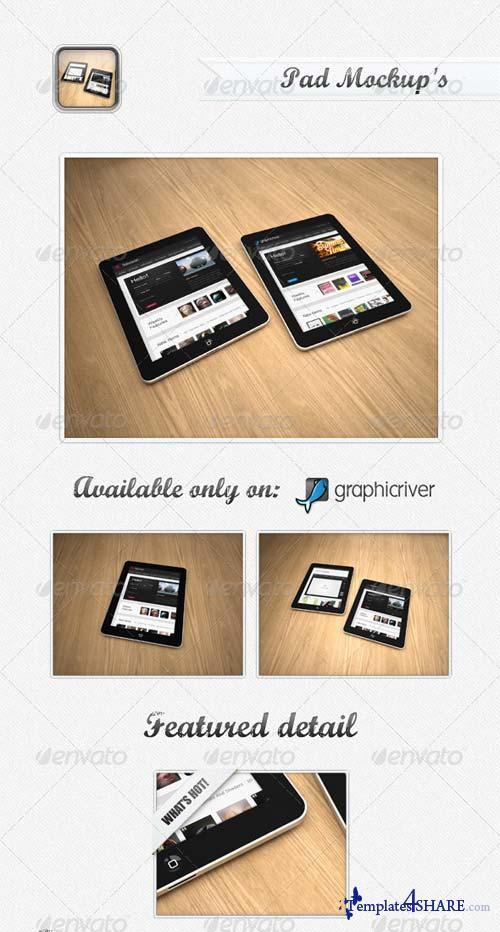 GraphicRiver Pad MockUp's
