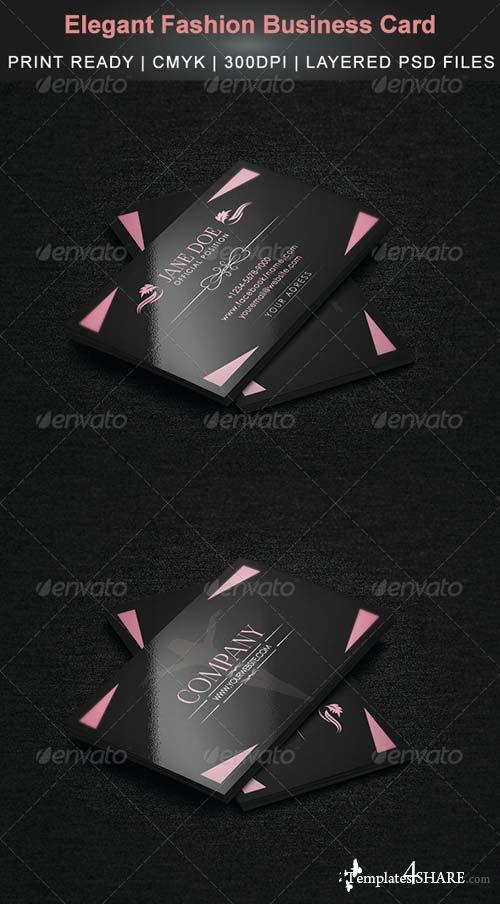 GraphicRiver Elegant Fashion Business Card