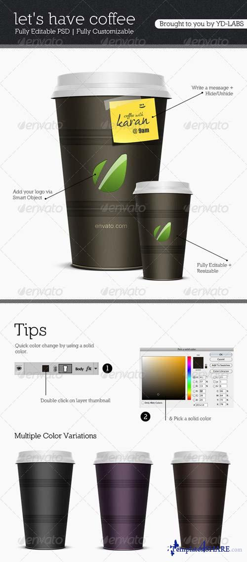 GraphicRiver Coffee Cup V1