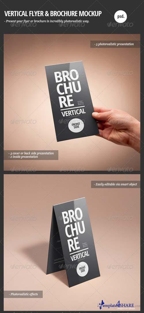 GraphicRiver Vertical Flyer & Brochure Mock-Up
