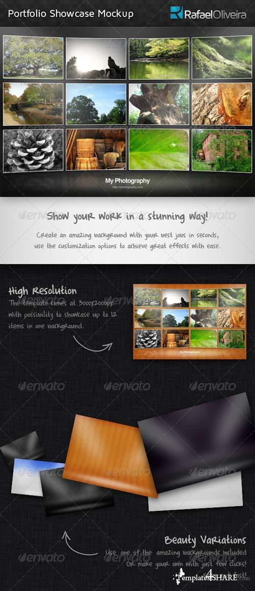 GraphicRiver Portfolio Showcase Mockup