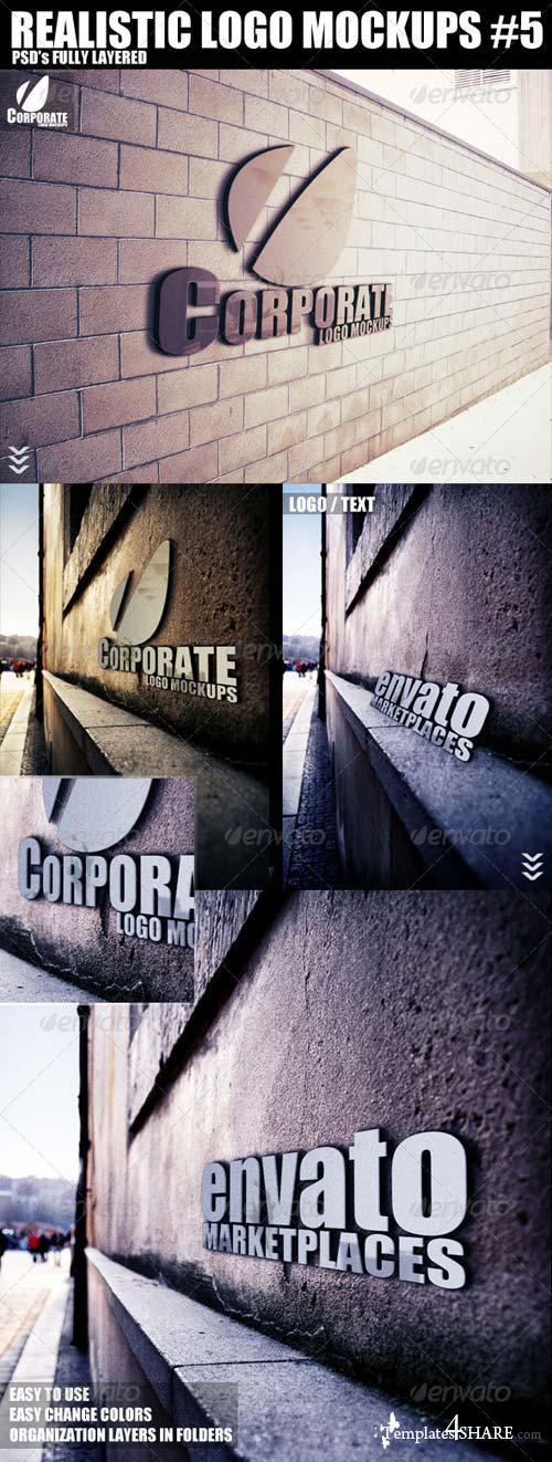 GraphicRiver Realistic Logo Mockups 5
