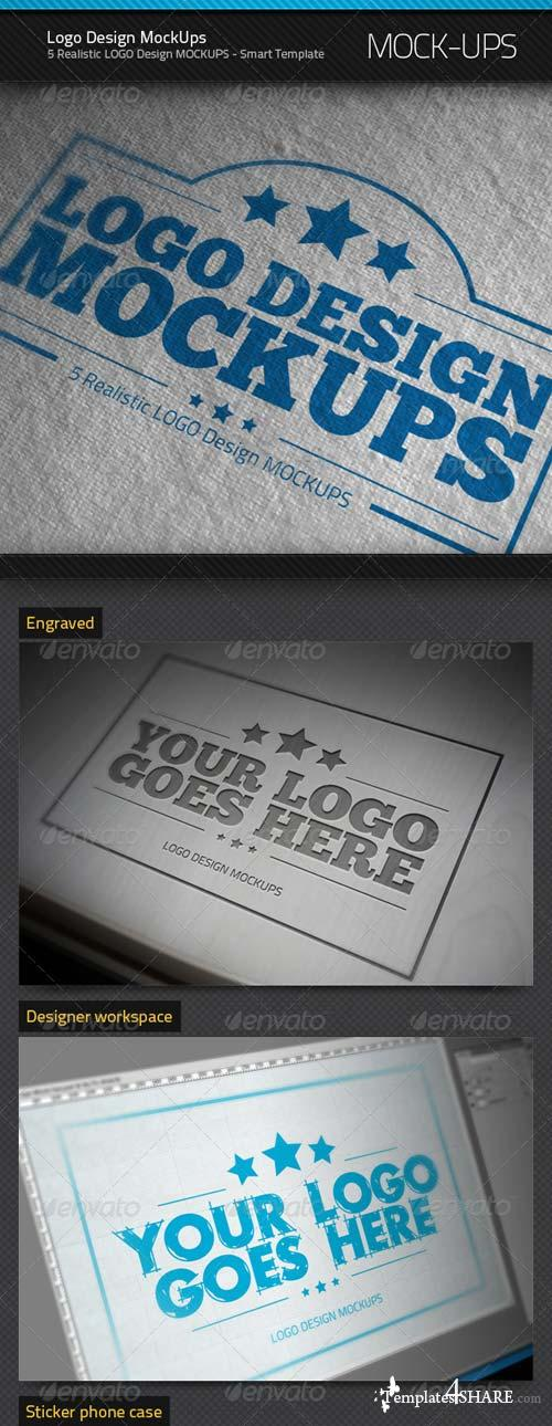 GraphicRiver Logo Design MockUps