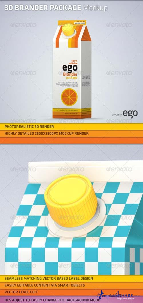 GraphicRiver Product Brander Mock-up