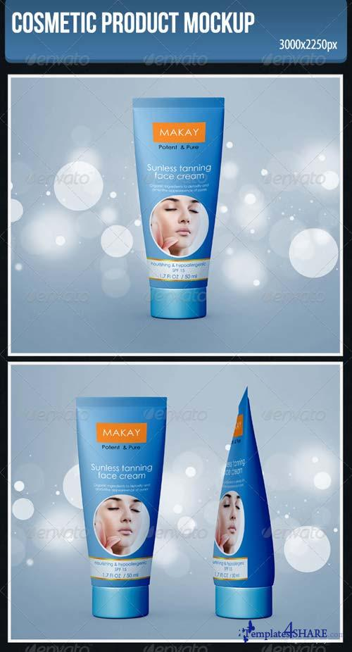 GraphicRiver Cosmetic Product Mockup