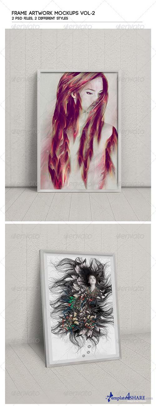 GraphicRiver Frame Artwork Mock-Up Vol-2