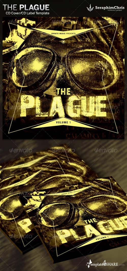 GraphicRiver The Plague: CD Cover Artwork Template