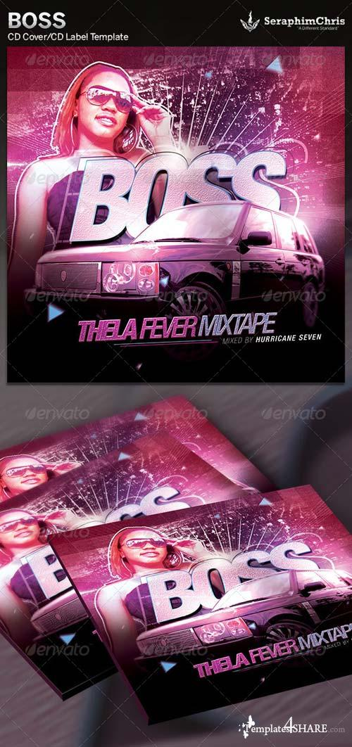 GraphicRiver Boss: CD Cover Artwork Template