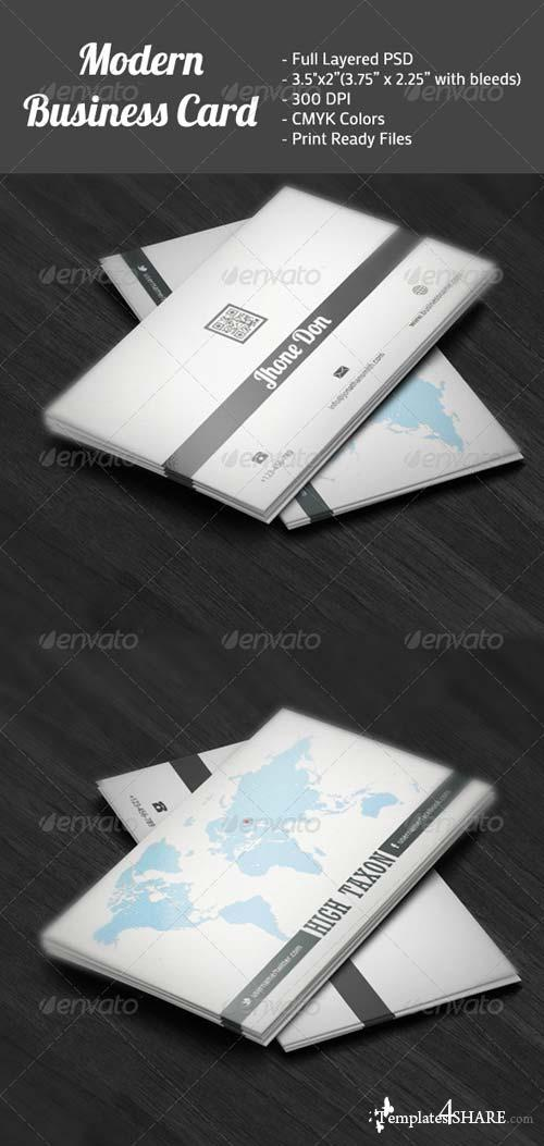 GraphicRiver Modern Business Card