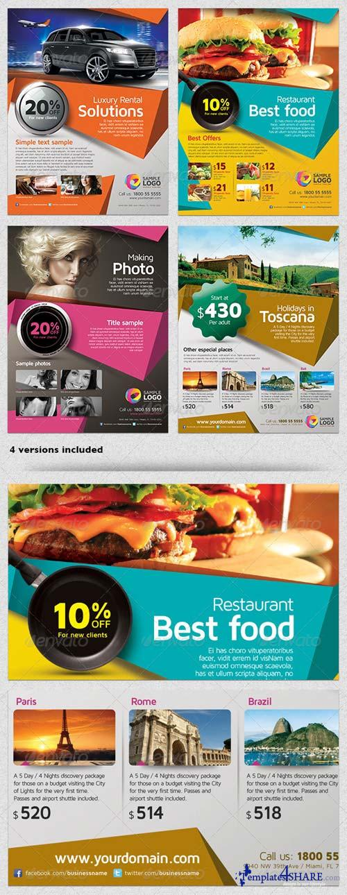 GraphicRiver Multipurpose Business Flyer Template Vol.01