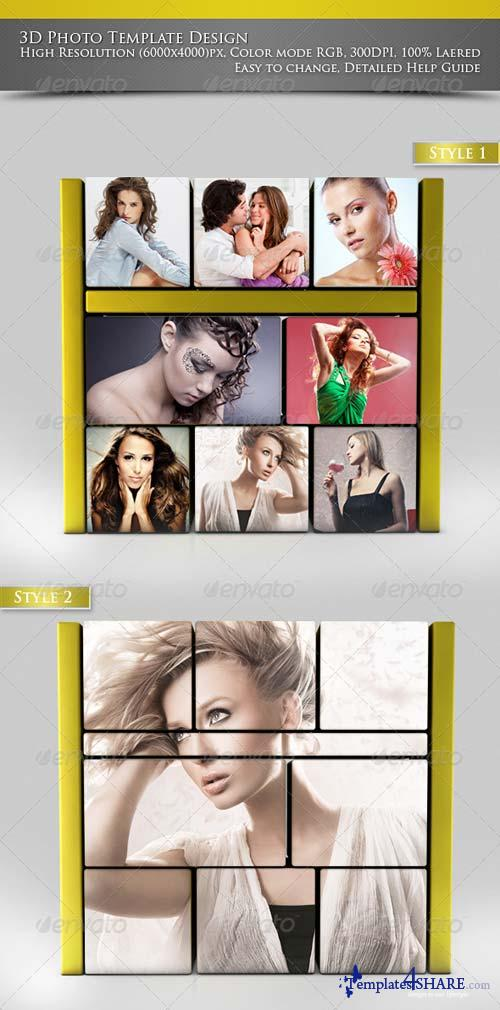 GraphicRiver 3D Photo Template Design