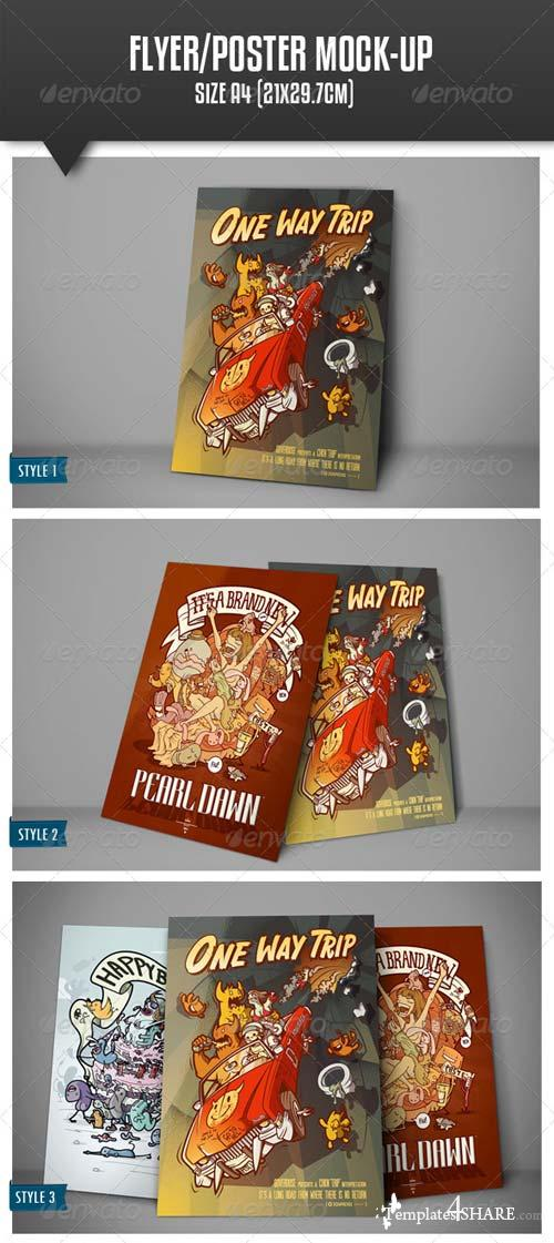 GraphicRiver Flyer/Poster Mock-up Vol.2