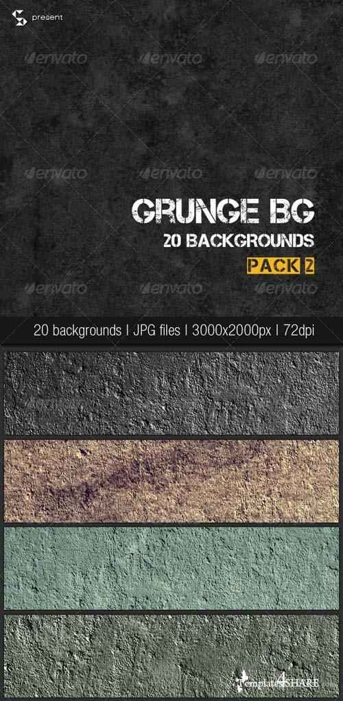 GraphicRiver Grunge Backgrounds Pack 2