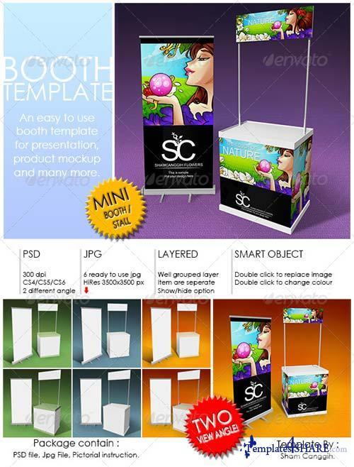 GraphicRiver Booth Template Part 3