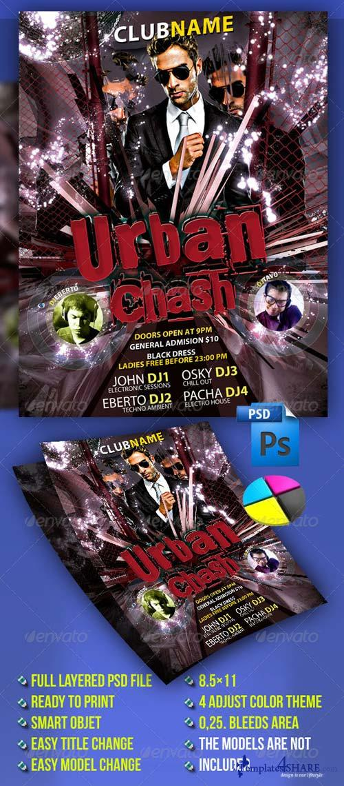 GraphicRiver Urban Crash Party