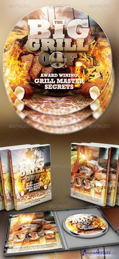 GraphicRiver The Big Grill Off DVD Artwork Template