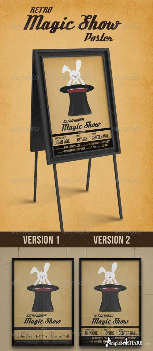 GraphicRiver Retro Rabbit