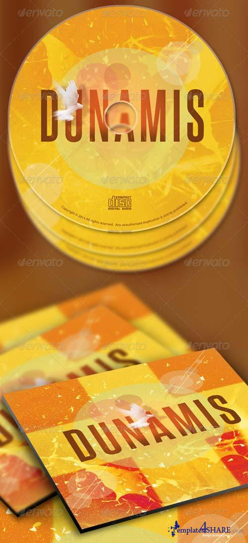 GraphicRiver Dunamis CD Artwork Template